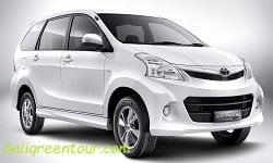 Toyota Avanza - Bali Car Charter - Bali Green Tour