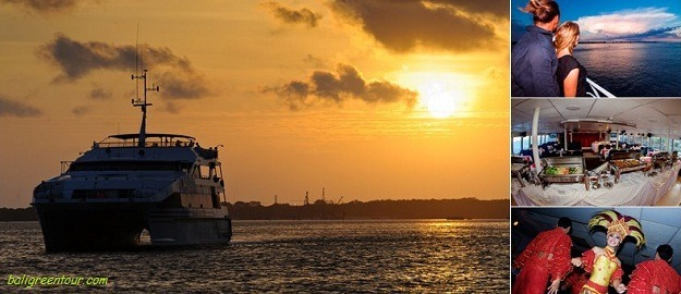 Bali Hai Sunset Dinner Cruise, Bali Dinner Cruises Packages, Bali Green Tour
